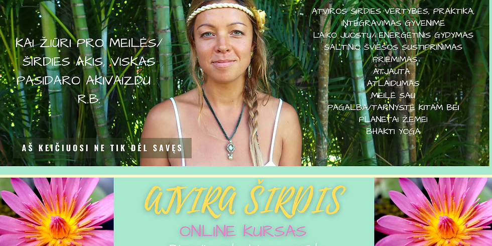 Atvira Širdis - Online kursas
