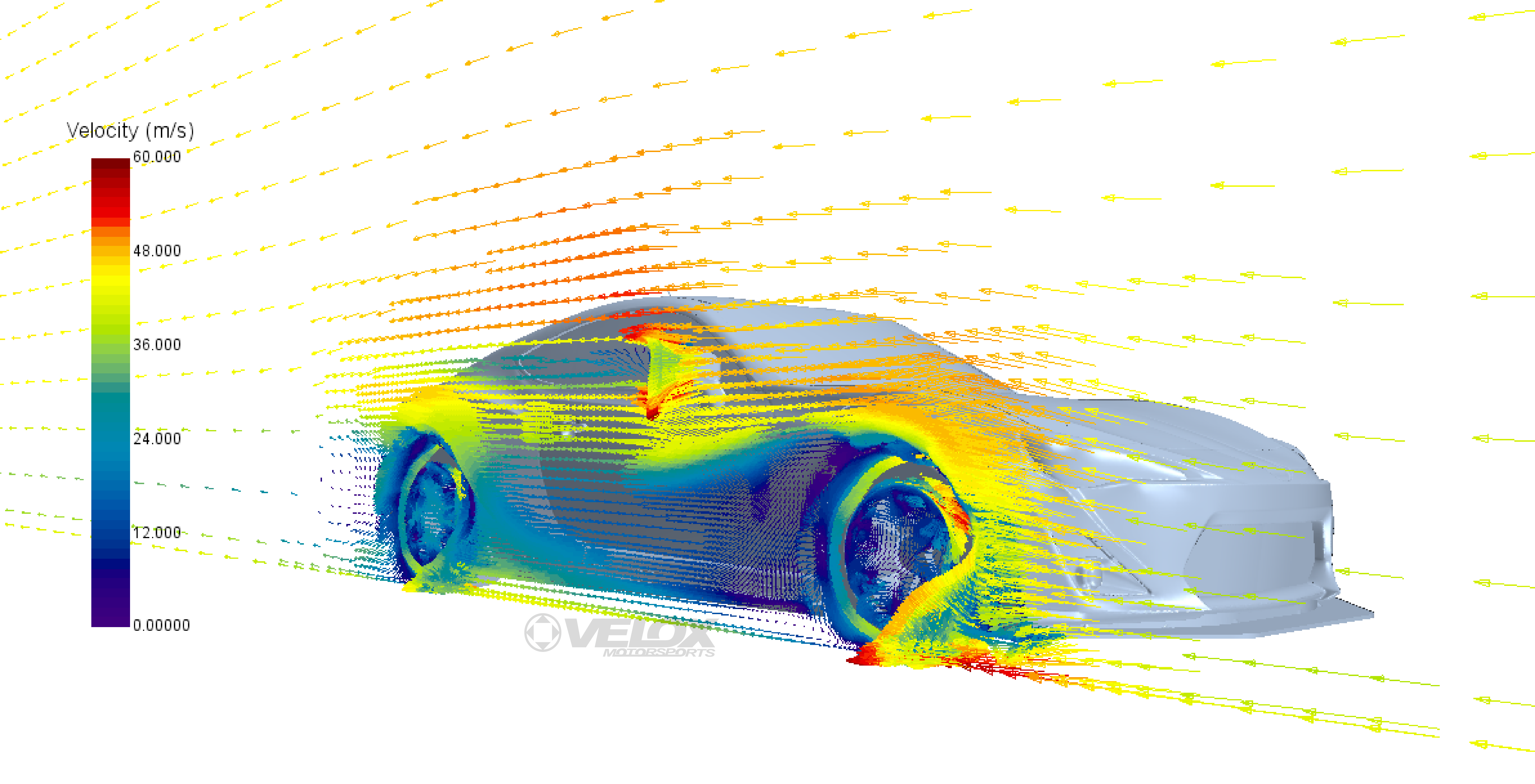 Front Splitter Endplate CFD Analysis