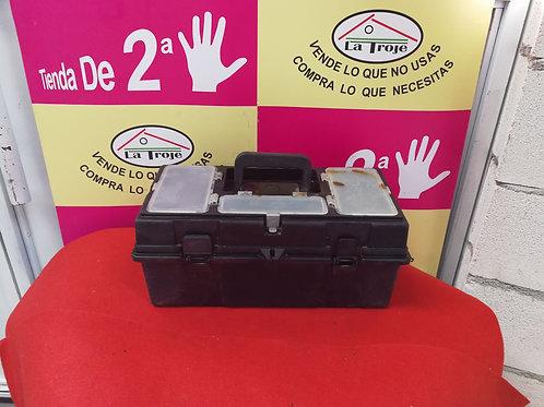 060318 caja de herramientas plástico negra