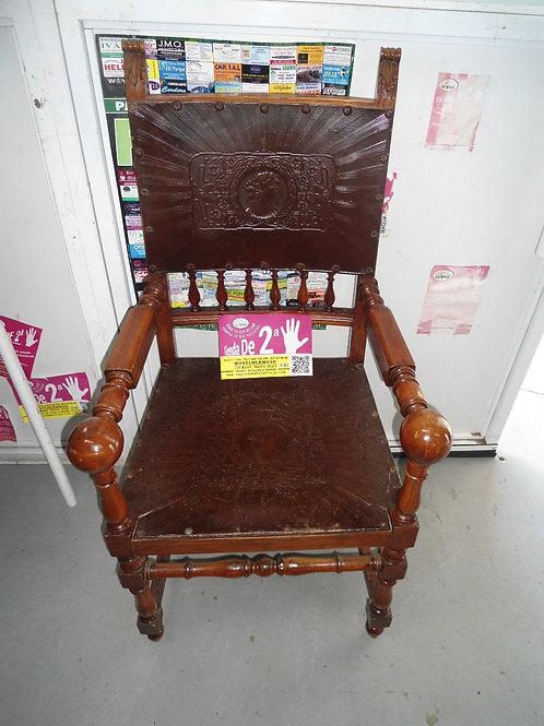 silla madera material