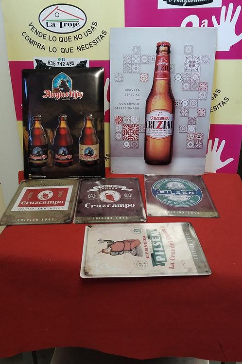 200820 chapas cuadros cerveza poster