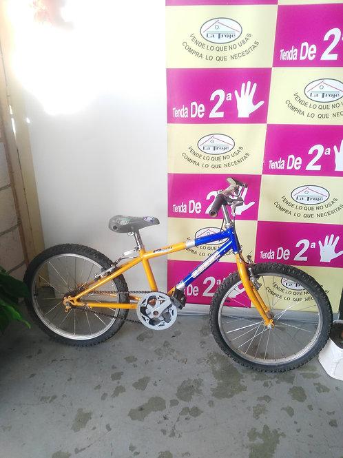 030120  bicicleta agece amarilla y azul