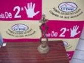 200417 Lampara de bronce de nudo