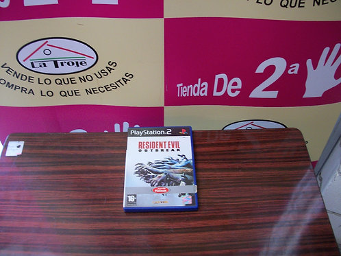 080317 Juego playstation 2 resident evil