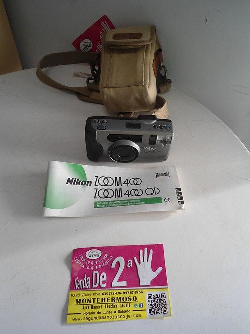 Camara de fotos nikon zoom 4000af