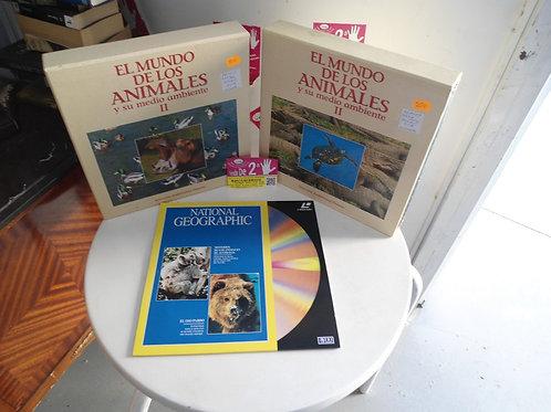 Discos de dvd grandes de animales vol2  el pack