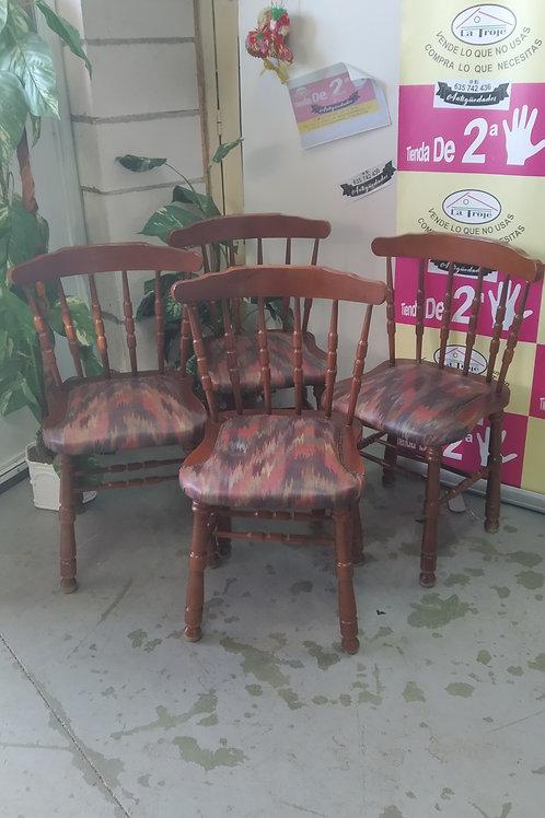 160920 sillas madera tela