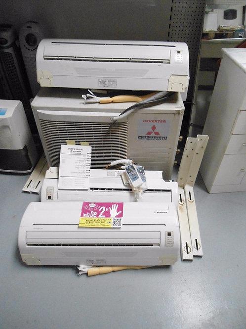110716 aire acondicionado inverter mitsubishi tres split y una maquina
