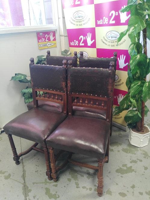 2708519 sillas madera antiguas