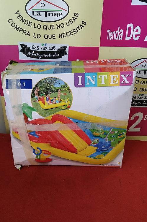 020920 piscina intex tobogan infantil