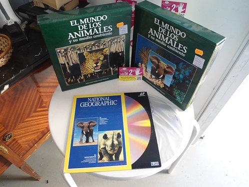 Discos de dvd grandes de animales vol1  el pack