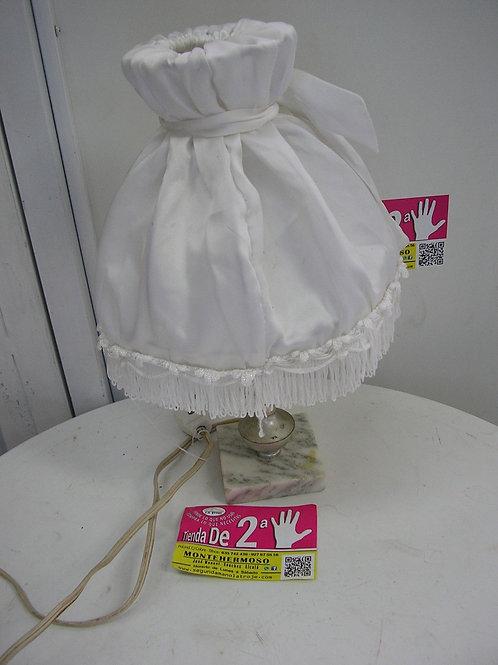 lámpara sobremesa tela