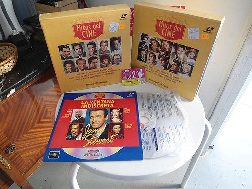 Discos de dvd grandes de mitos del cine el pack