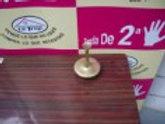 200417 Jarron de bronce de cuello alto