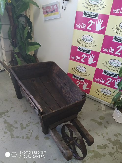 240620 carretillo madera rueda hierro carretilla