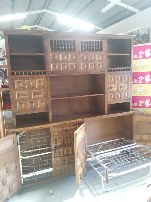 290419  mueble sala bar salón dos camas