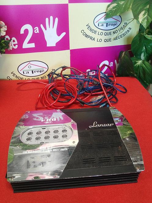011018,ETAPA DE POTENCIA LANZAR 1000W 4 CANALES