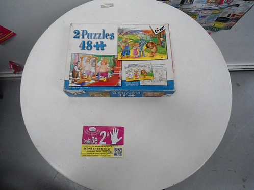 2 Puzzles en 1