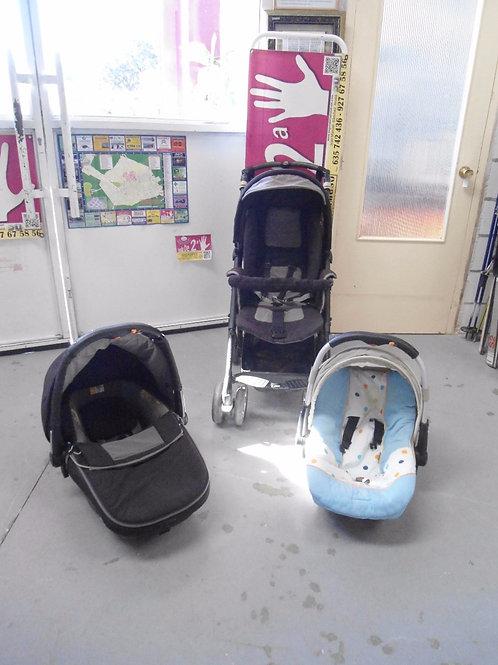 Silla de paseo de bebe con masicosi y cuco jane
