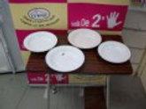 310317 Platos de porcelana  unidad