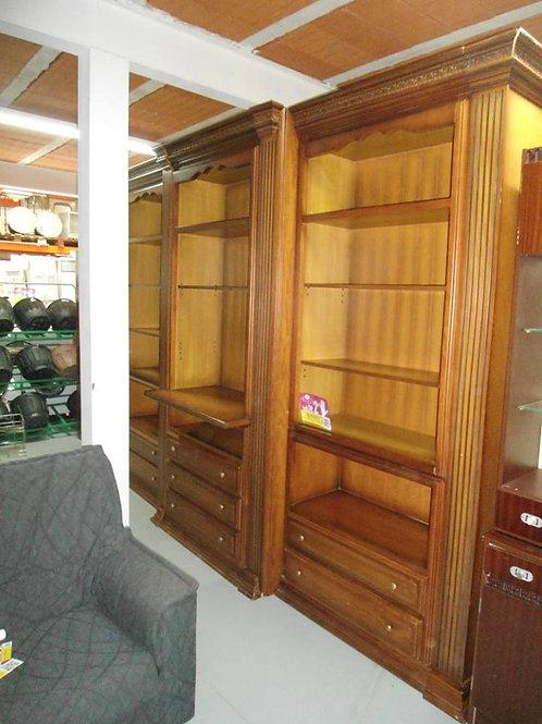 librería madera