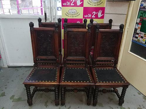 140218 sillas renacimiento ( 3 unidades)