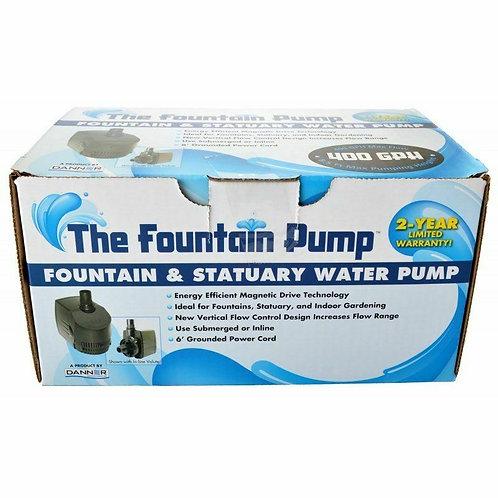 Danner Supreme Hydroponics Submersible/ In-Line Pump 400 GPH (Grower's Pump)