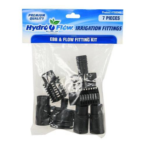 Hydro Flow® Ebb & Flow Fitting Kit
