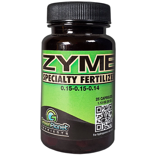 GreenPlanet Nutrients Zyme Capsules 0.15-0.15-0.14