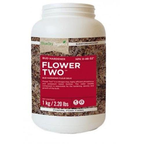 BlueSky Organics FLOWER TWO 1Kg 0-46-32 BUD HARDENER