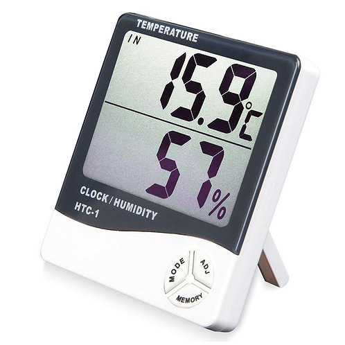 LARGE DISPLAY THERM. HYGROMETER