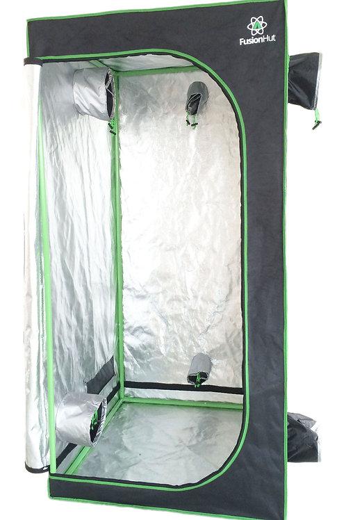 3' x 3' x 6.5' Fusion Hut 600D Grow Tent