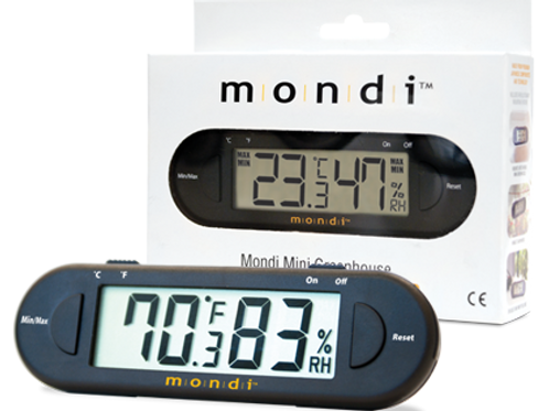 mondi mini green house thermo hygrometer