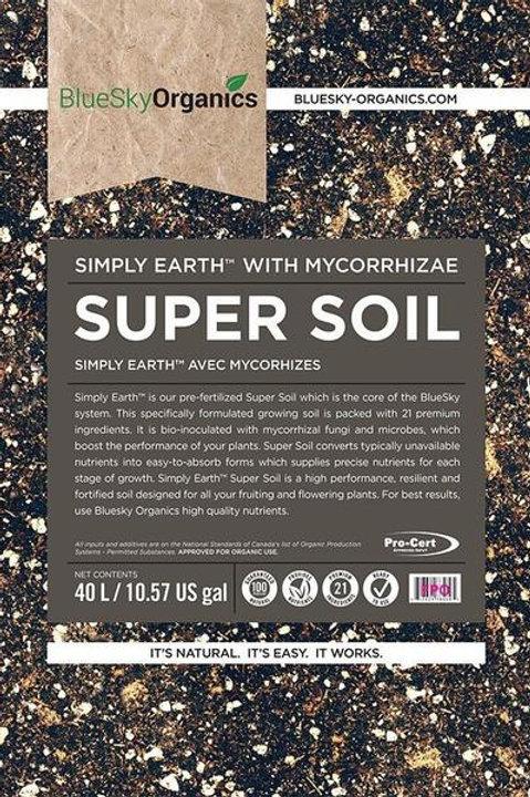 ORGANIC SUPER SOIL 40L BLUESKY ORGANICS