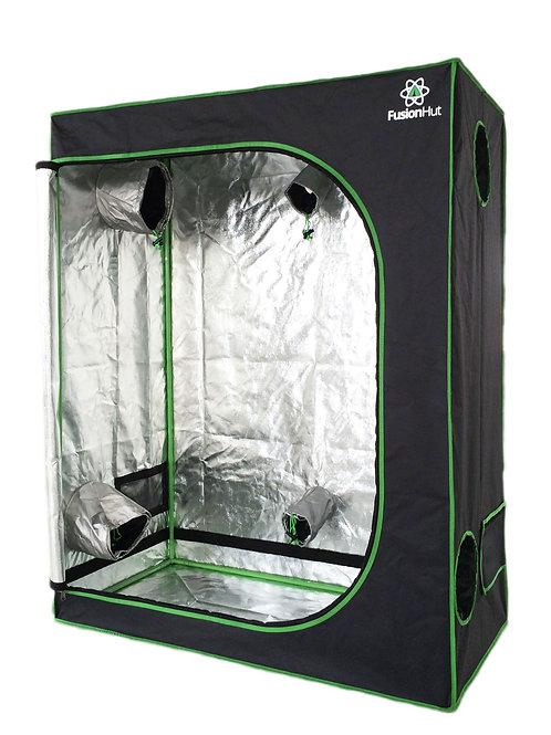 4' x 2' x 5' Fusion Hut 600D Low Profile Grow Tent