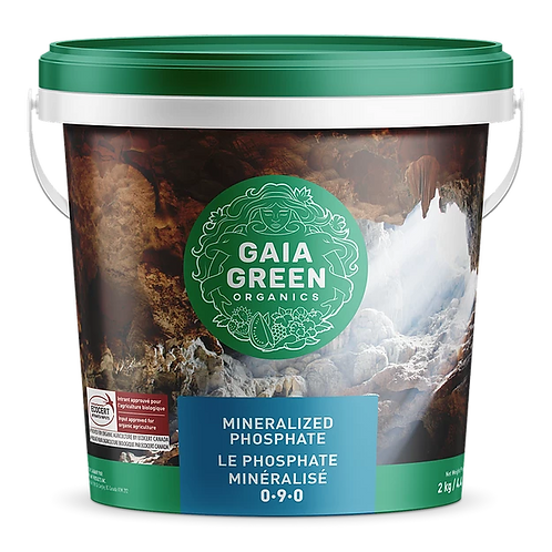 Gaia green mineralized phosphate 0-9-0