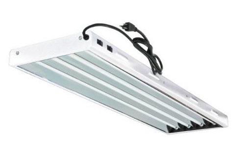 Sun Blaze4FT 4 Bulb T5 HO Fluorescent Light Fixture