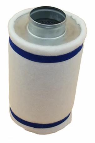 "4 Inch (400mm) Fusion Breath Hydroponic Filter 4x16"" 278 CFM"