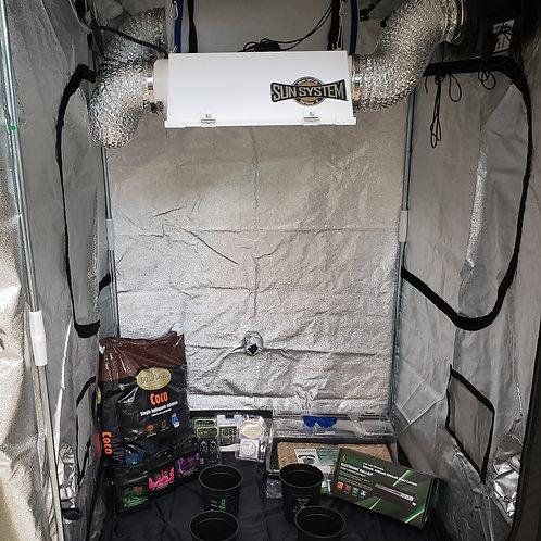 4'x'4'x 6.6'Beginner Grow tent kit