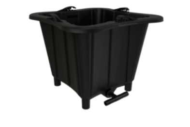 The Bucket Company 3 Gallon – 6 Planter Black Kit