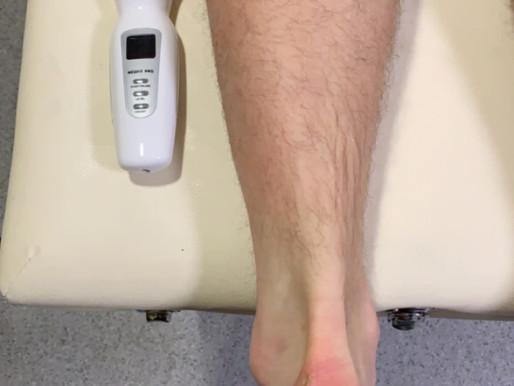 ultrasound - Achilles tendinitis.