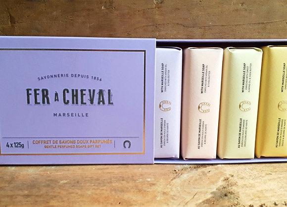 Coffret de Savons Doux Parfumés Fer à Cheval