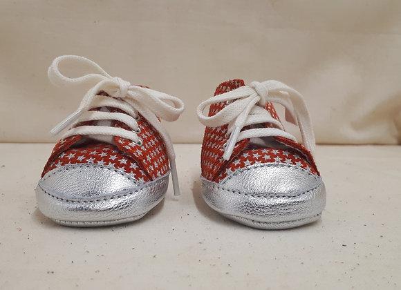 Chaussures Bébé Alex Rouge