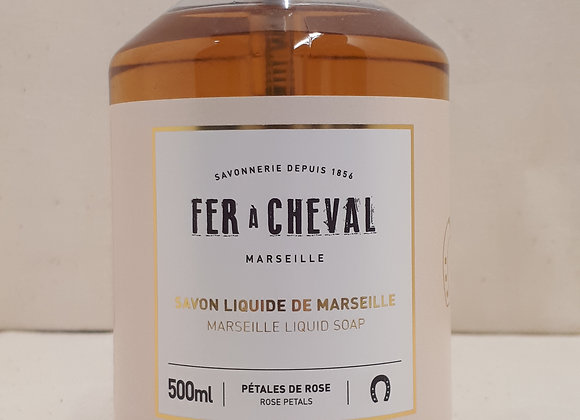 Savon Liquide de Marseille Pétales de Rose