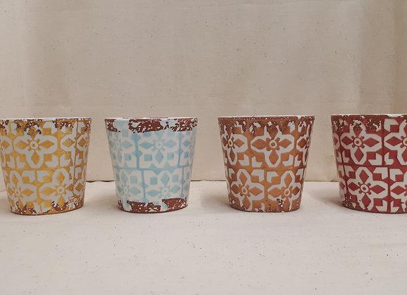 Pot Céramique Mosaique