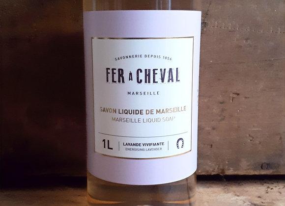 Savon Liquide de Marseille 1L à la Lavande Vivifiante