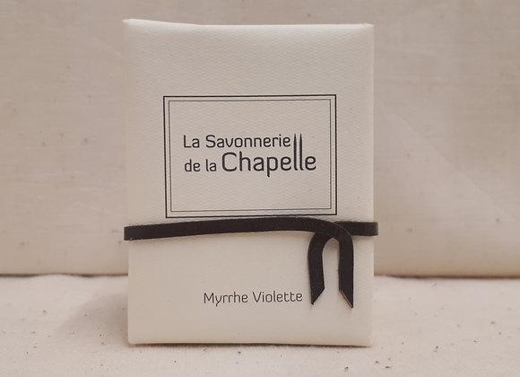 Savon Parfumé Myrrhe Violette