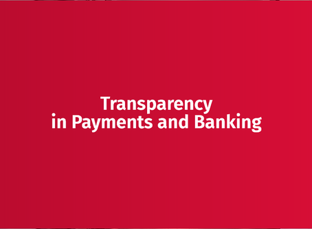Why should businesses consider transparency when building their own financial services?