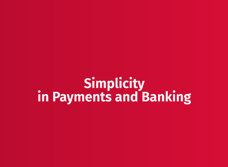 Simplicity in transaction banking for payment service providers