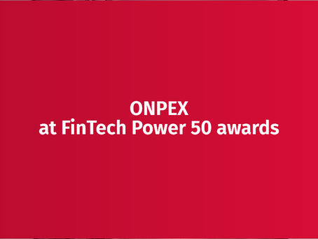 ONPEX banking and payment solution at FinTech Power 50 awards!